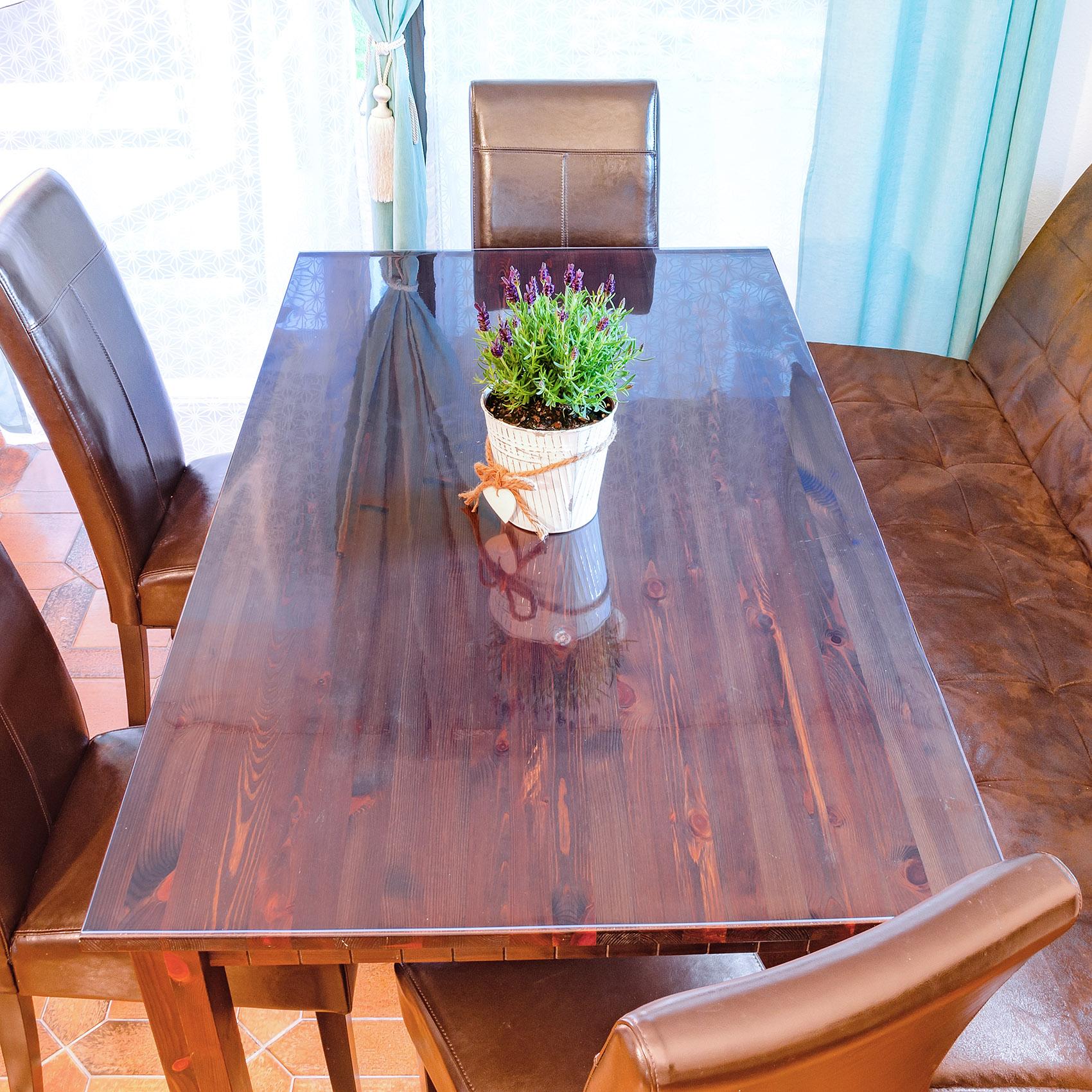 1mm Weich folien Tischschutz Transparente PVC-Folie Breite 140 cm